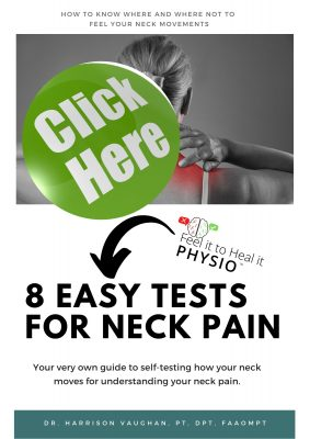 test your neck pain