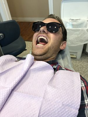 why do I have dizziness after seeing the dentist?